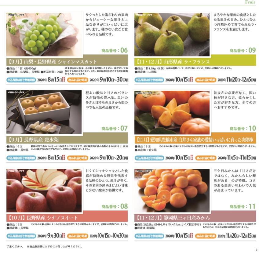 パイオラックス株主優待のフルーツ2