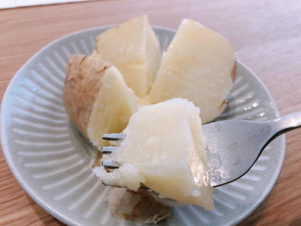 じゃがバターの完成