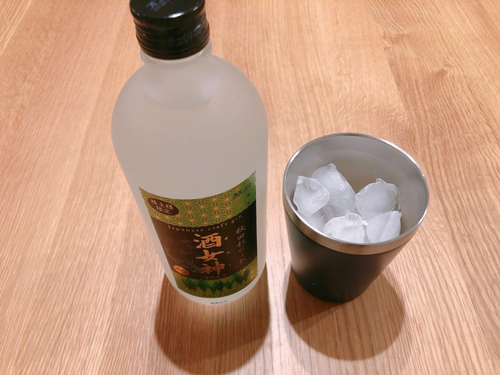 秋田杉GIN 酒女神